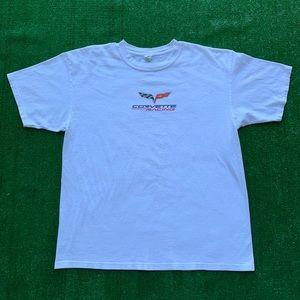 Chevrolet Chevy Corvette Racing Logo Emblem Shirt